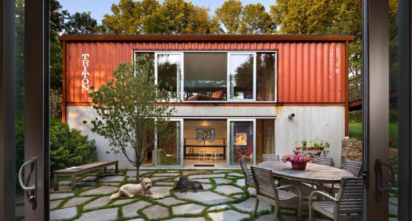 Shipping Container House Easy Home Decorating Ideas
