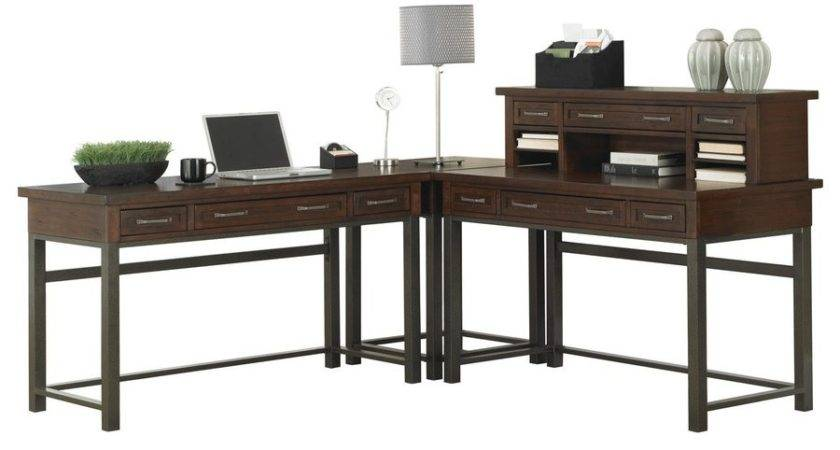 Shop Home Styles Cabin Creek Casual Shaped Desk Lowes