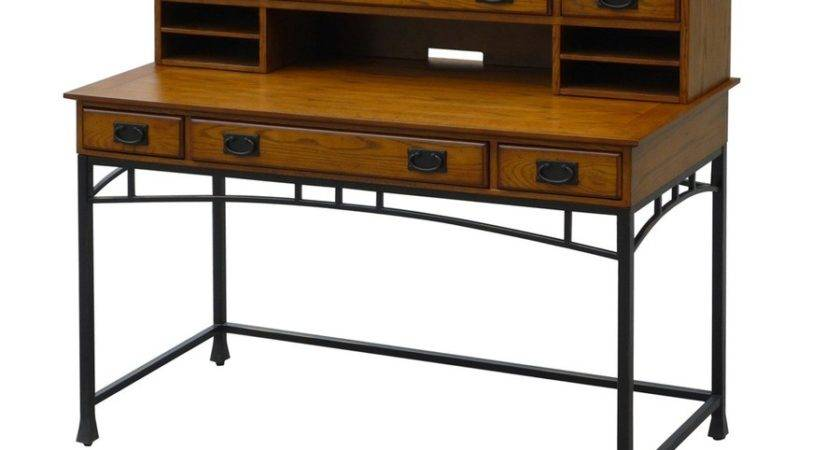 Shop Home Styles Modern Craftsman Executive Desk Lowes