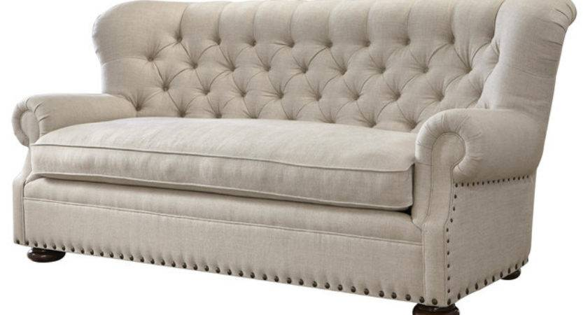 Shop Houzz Decadent Avenue Bristol Tufted Wing Belgian