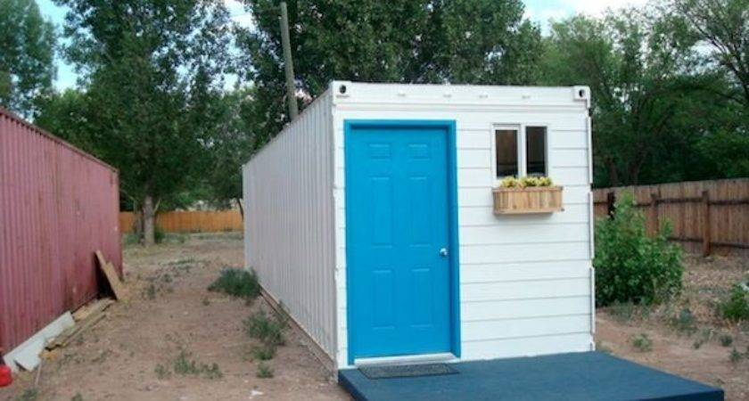 Simple Cabins Made Shipping Container Modern