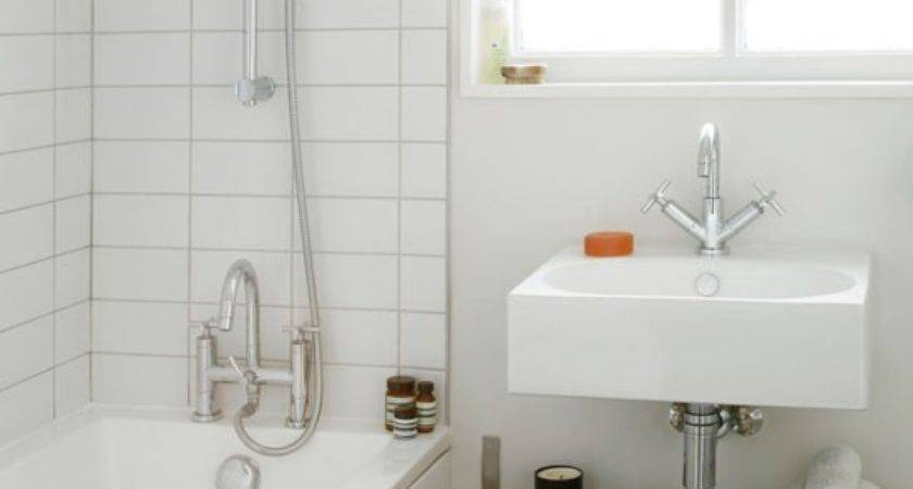 Simple Small Bathroom Decorating Housetohome