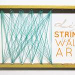 Simple String Wall Art Else Michelle