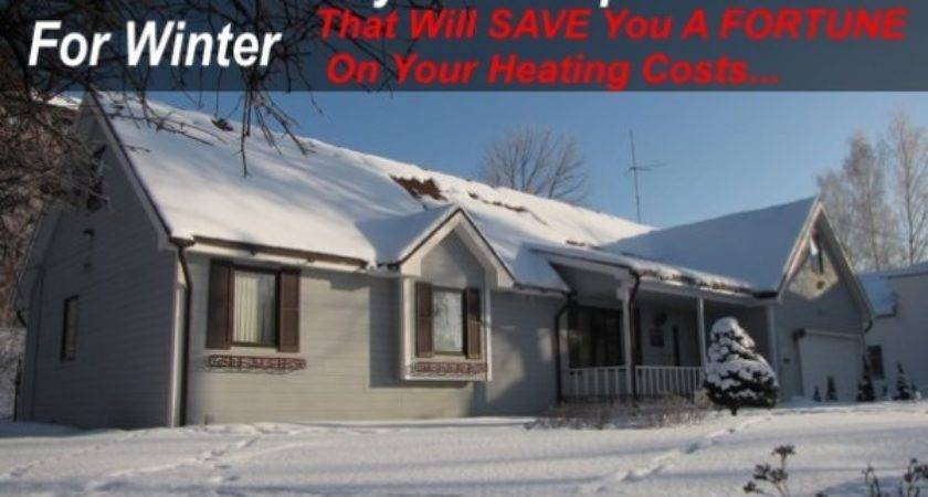Simple Ways Prep Your Home Winter Save
