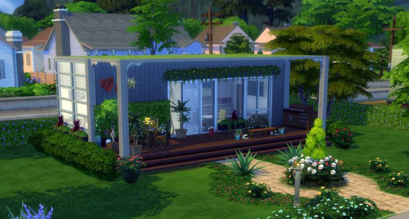 Sims Building Challenge Container House