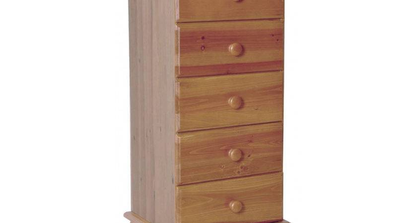 Skagen Drawer Narrow Chest Quality Solid Antique Pine