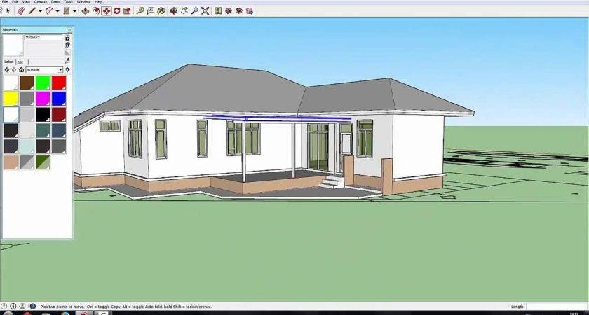 Sketchup Pro Create House Model Hour