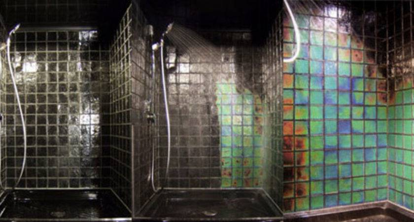 Slacktivate Color Sensitive Shower Tiles