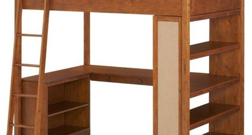 Sleep Study Loft Bed Modern Beds Pbteen