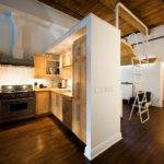 Small Apartment Transformed Into Versatile Living Space