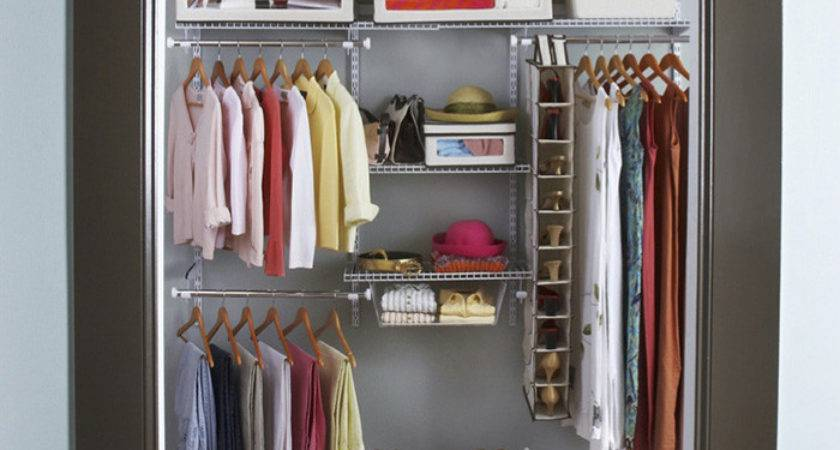 Small Closet Storage Ideas Walk