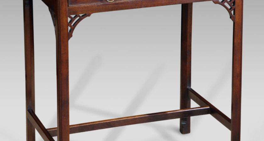 Small Georgian Side Table Tripod Tables Antique