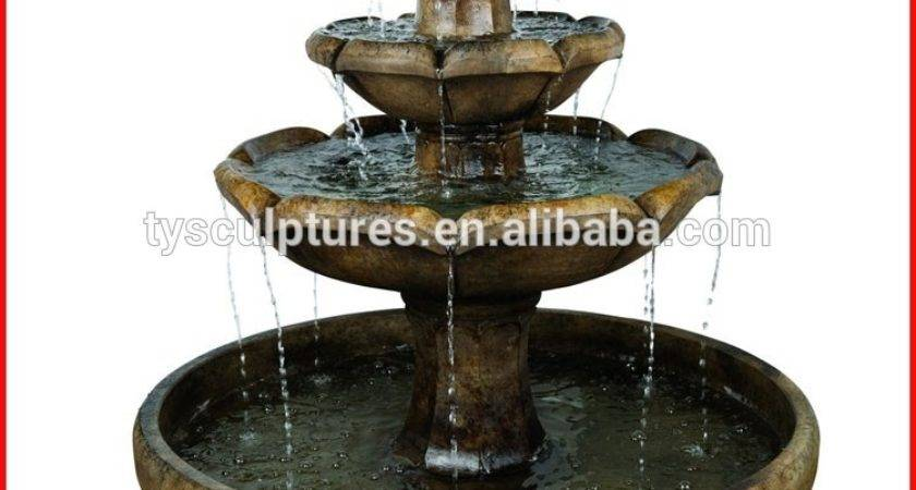Small Indoor Waterfall Fountain Rustic Vase Water