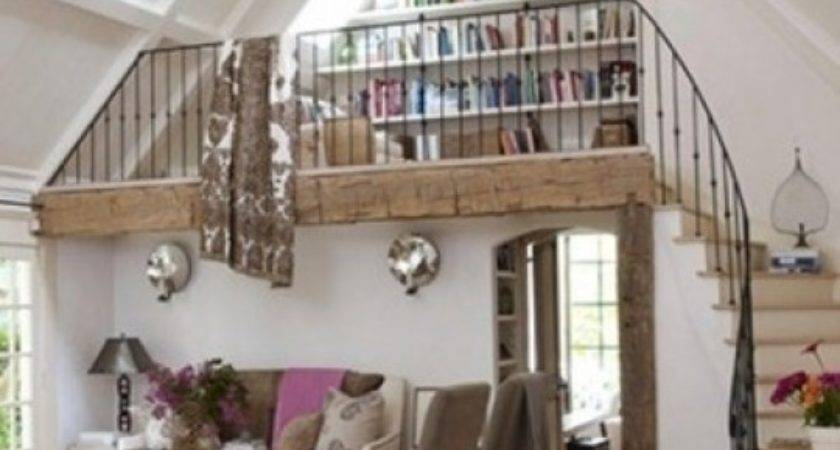Small Library Reeding Nook Loft Favething