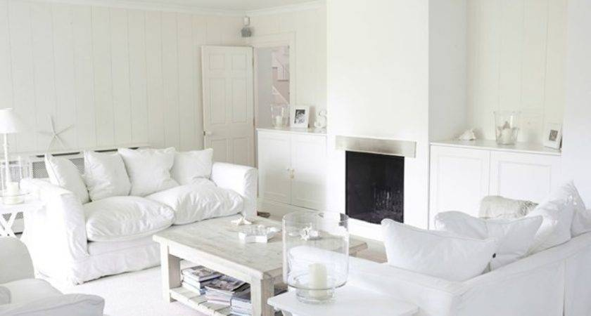 Small Living Room Ideas All White Colour Scheme