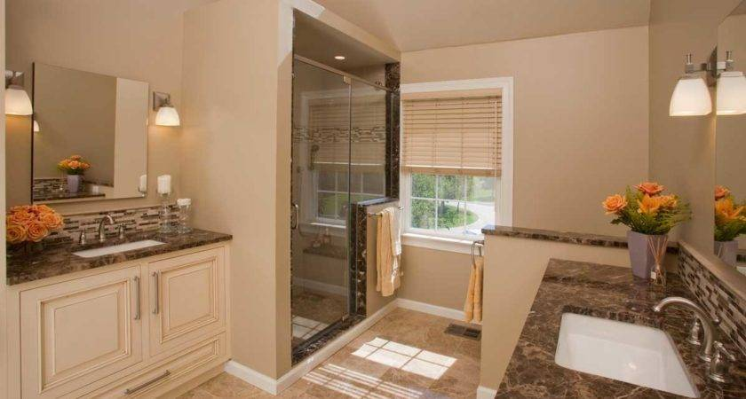 Small Master Bathroom Design Ideas Remodeling Home