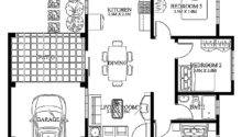 Small Modern House Designs Floor Plans Cottage