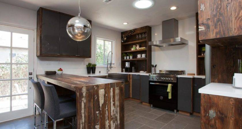 Small Modern Rustic Kitchen Ideas