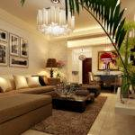 Small Narrow Living Room Design