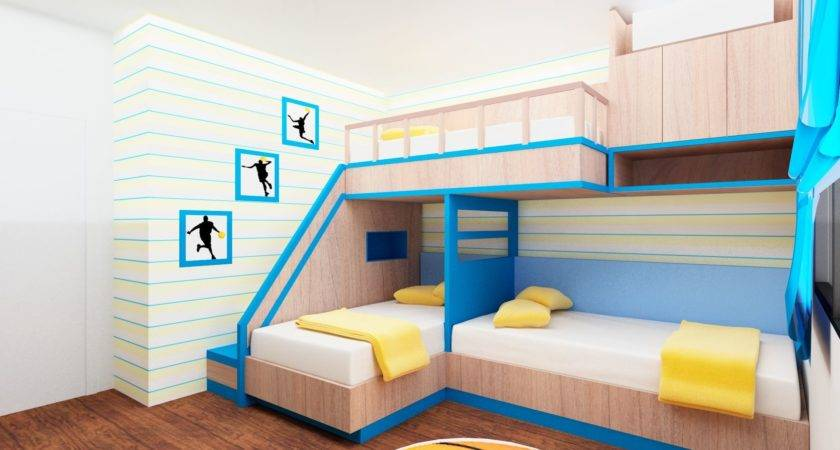 Small Room Design Childrens Bunk Beds Rooms