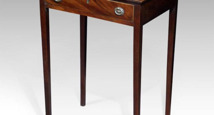 Small Side Table Antique Occasional Tripod Tables