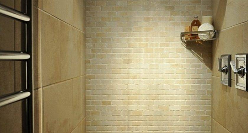Small Tiled Shower Stalls