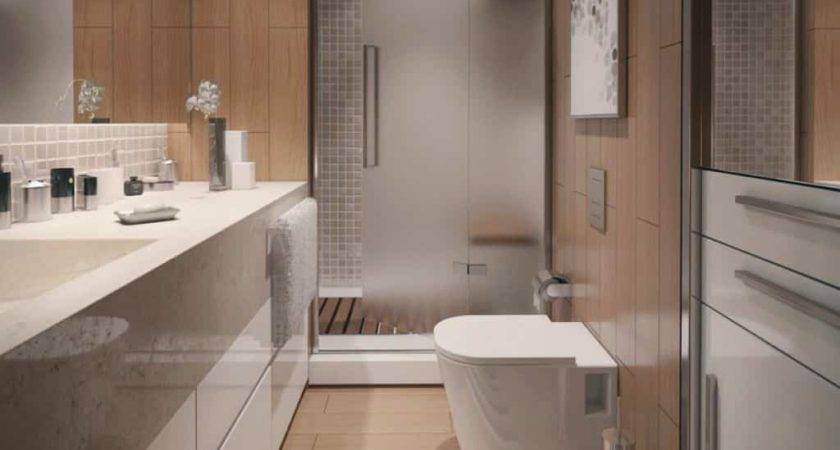 Smart Compact Bathroom Chic Furniture Arrangement
