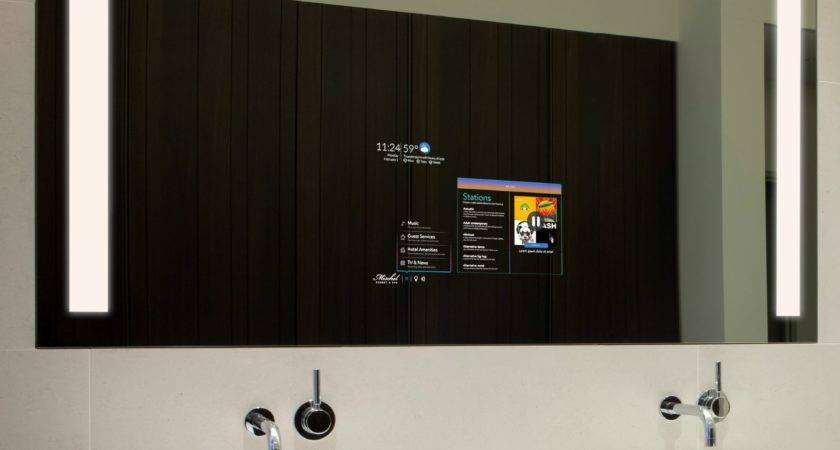 Smart Mirror Hospitality Market Allows Control Connection