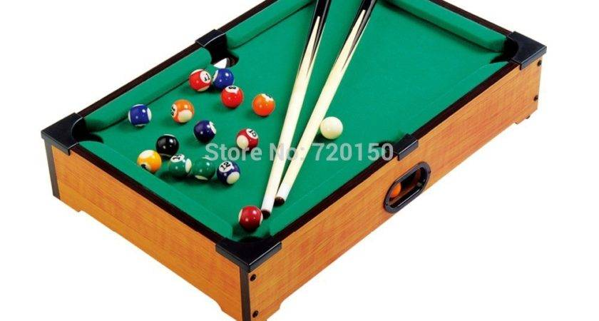 Snooker Table Small Sized Pool Game Wood Texture Billiards