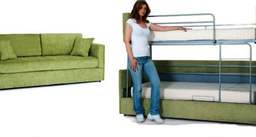 Sofa Into Bunk Bed Couch Beds Convertible Design