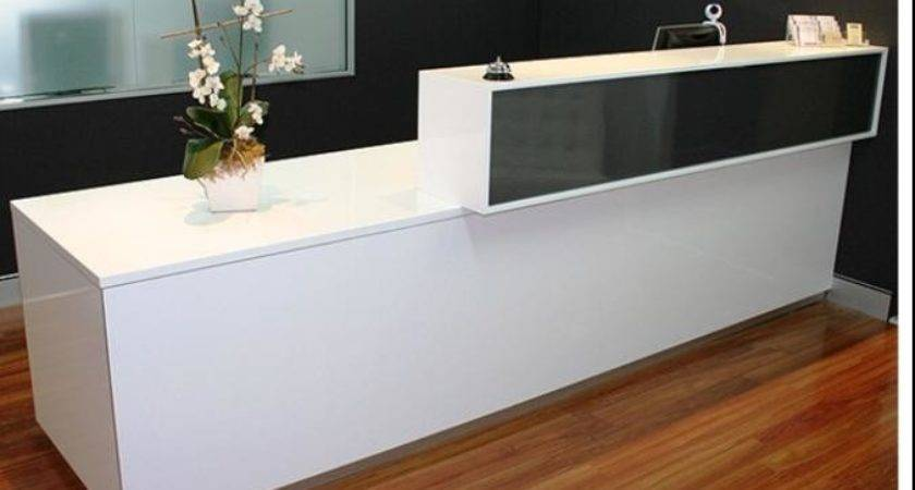 Solid Surface Reception Desk Mart Most