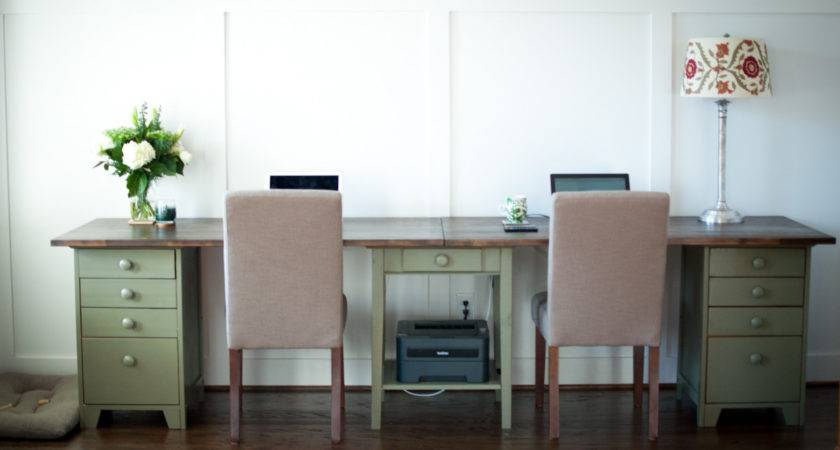 Some Cool Ideas Tips Diy Double Desk Project