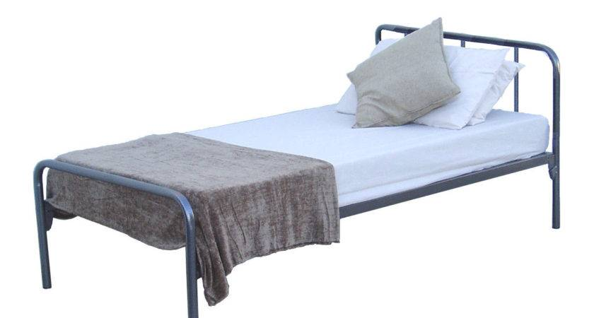 Space Single Steel Bed Frame Beds