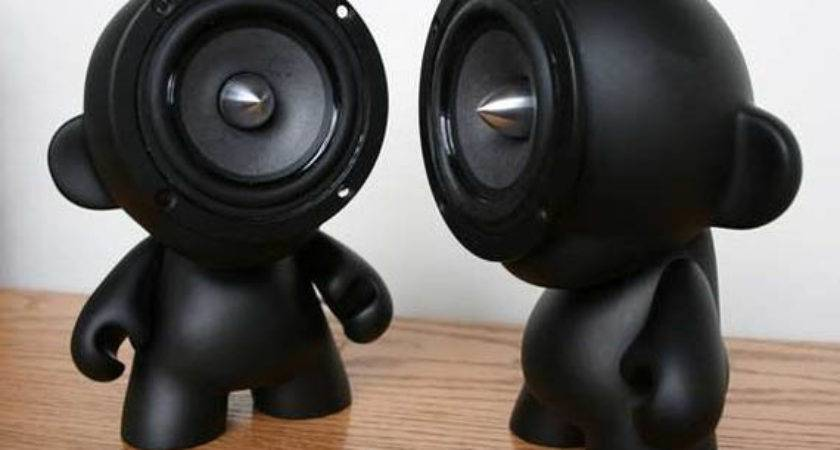 Speakers Think Outside Box Cool Material