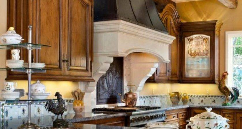 Spectacular French Country Kitchen Countertops Oak