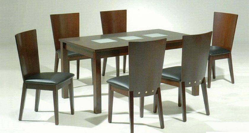 Spoleto Contemporary Dining Table Unique Frosted Glass