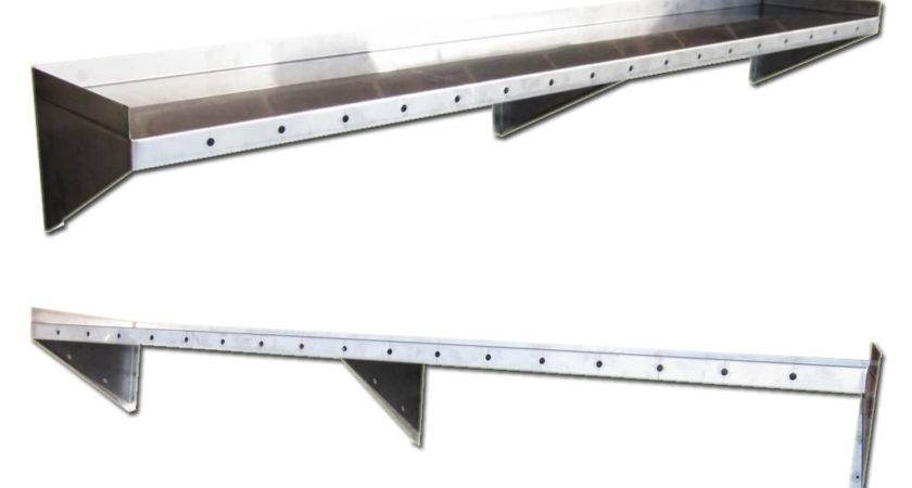 Stainless Steel Floating Shelves Home Decorations