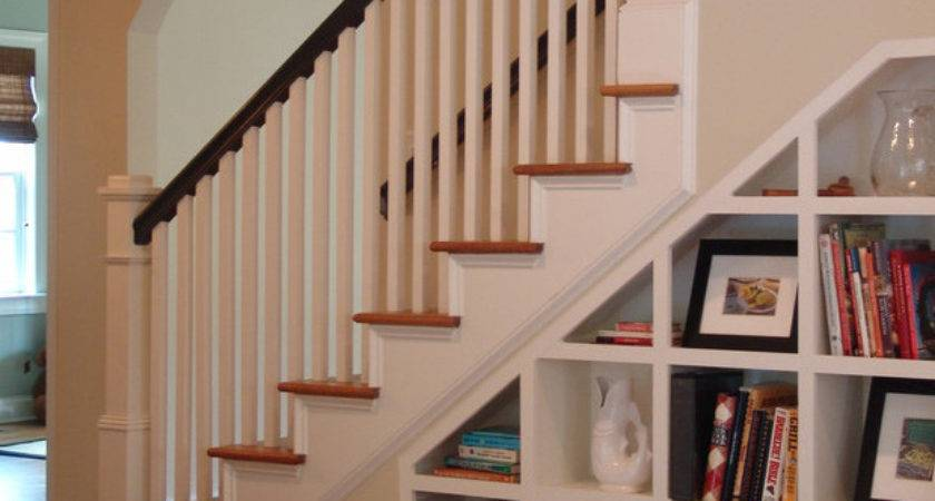 Staircases Built Shelving Units