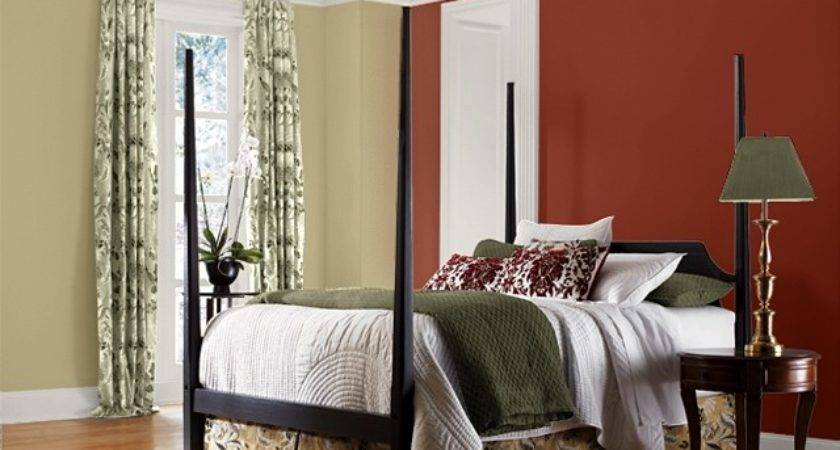 Steel Lily Design Red Accent Wall
