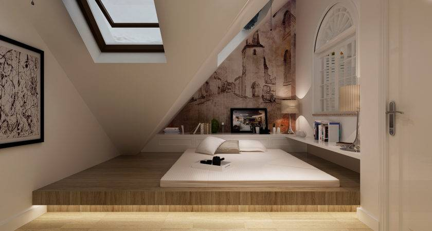 Steeple Attic Space Design