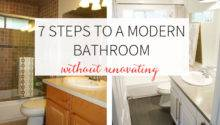 Steps Renovating Bathroom Home Design