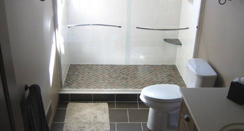 Stone Floor Tiles Small Bathroom Remodel Ideas