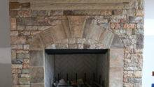 Stone Veneer Fireplace Cape Cod Pinterest