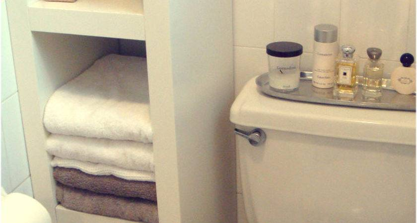 Storage Ideas Small Bathrooms Micro Living