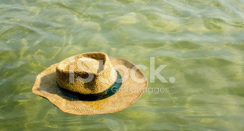 Straw Hat Floating Water Photos Freeimages