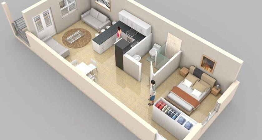 Studio Apartment Floor Plans Home Decor Design