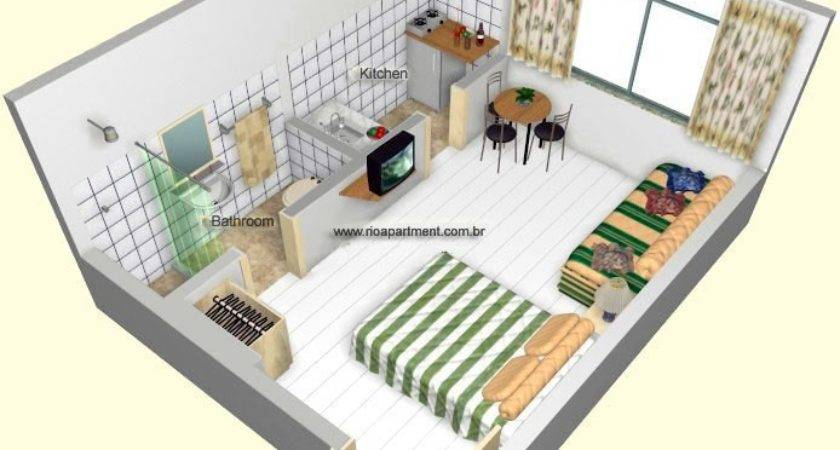 Studio Apartment Floorplans Home Plans Design