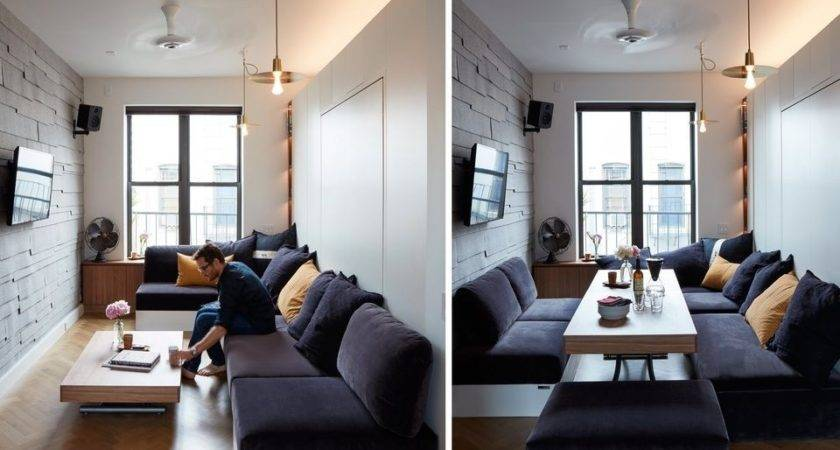 Studio Apartment Furniture Walpaper