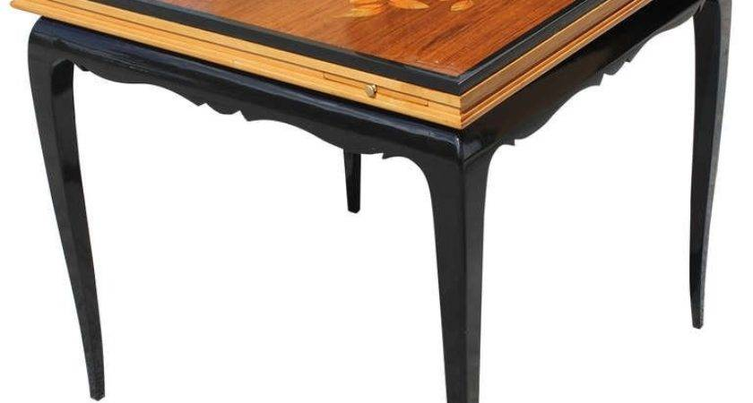Stunning French Art Deco Multi Gaming Table Stdibs