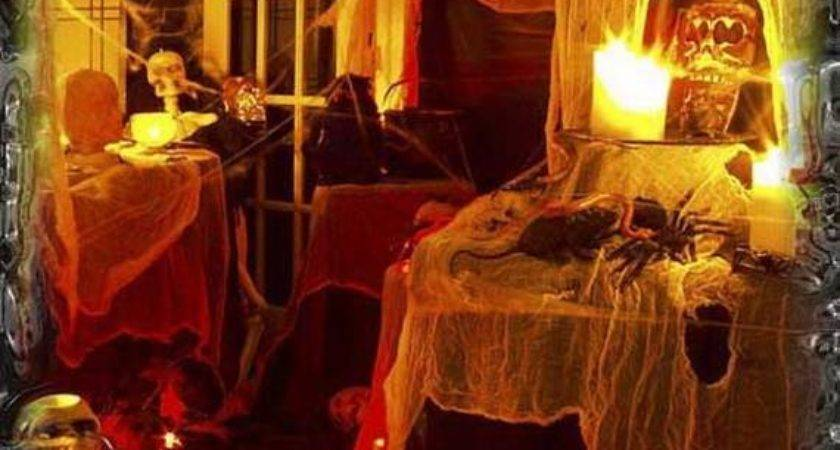 Stylish Halloween House Interior Decorating Ideas